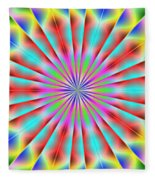 3x1 Abstract 918 Fleece Blanket
