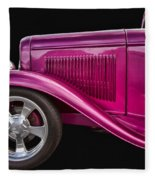 1932 Ford Hot Rod Fleece Blanket