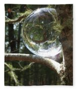 4-22-16--8699 Don't Drop The Crystal Ball, Crystal Ball Photography  Fleece Blanket