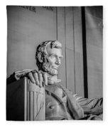 Abraham Lincoln Memorial In Washington Dc Usa Fleece Blanket