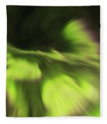 Abstract Aurora Fleece Blanket