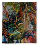 Spirit Tree Fleece Blanket