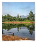 Adam's Peak - Sri Lanka Fleece Blanket