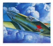 Aircraft Fleece Blanket