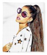 Ariana Grande Fleece Blanket