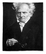 Arthur Schopenhauer Fleece Blanket