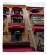 Artistic Architecture In Palma Majorca, Spain Fleece Blanket