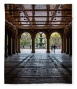 Bethesda Terrace Fleece Blanket