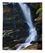 Big Bradley Falls North Carolina Fleece Blanket