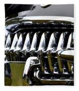 Black Corvette Fleece Blanket