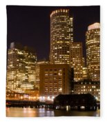 Boston Massachusetts Fleece Blanket