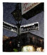Bourbon Street Fleece Blanket