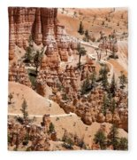 Bryce Canyon - Utah Fleece Blanket