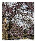 Central Park Spring Fleece Blanket