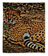Cheeta Fleece Blanket