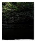 Cherokee Falls Fleece Blanket