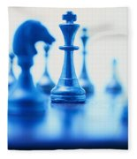 Chess Fleece Blanket