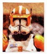 Clone Trooper Commander - Wax Style Fleece Blanket