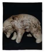 4 Corners Bear Fleece Blanket