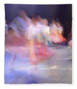 Dancers In Motion  Fleece Blanket