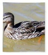 Duck Fleece Blanket