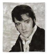 Elvis Presley, Legend  Fleece Blanket