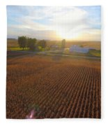 Farming Fleece Blanket