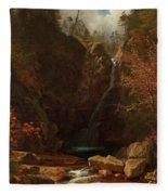Glen Ellis Falls Fleece Blanket