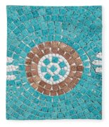 Hans Mosaic Fleece Blanket