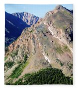 Hiking The Mount Massive Summit Fleece Blanket
