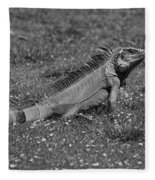 I Iguana Fleece Blanket