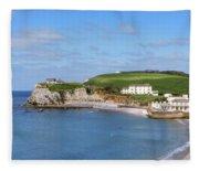 Isle Of Wight - England Fleece Blanket