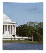 Jefferson Memorial, Washington Dc Fleece Blanket