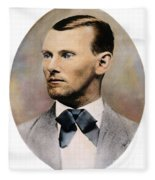 Jesse James, 1847-1882 Fleece Blanket