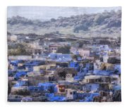 Jodhpur - India Fleece Blanket