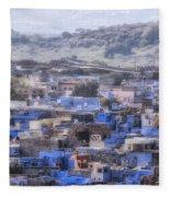 Jodhpur - India Fleece Blanket