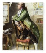 Johann Goethe, 1749-1832 Fleece Blanket