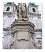 Josef Haydn Fleece Blanket