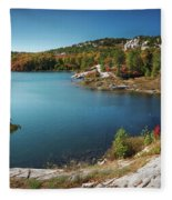 Killarney Provincial Park In Fall Fleece Blanket