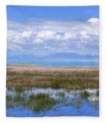 Lake Beysehir - Turkey Fleece Blanket