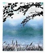 #4 Landscape Fleece Blanket