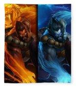 League Of Legends Fleece Blanket