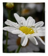 Marguerite Daisy Fleece Blanket