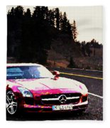 Mercedes Fleece Blanket