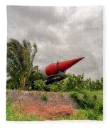 Military Weapons, Ballistic, Anti-aircraft, Medium-range Missile 5 Fleece Blanket