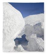 Mount Washington - New Hampshire Usa Fleece Blanket