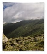 Mount Washington New Hampshire Usa Fleece Blanket