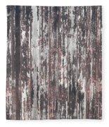 Old Wood Fleece Blanket