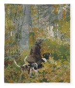 On The Trail Fleece Blanket