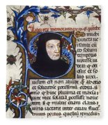 Petrarch (1304-1374) Fleece Blanket